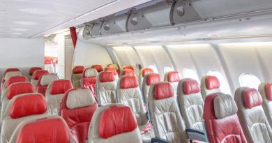 Почему стоит выбирать последний ряд в самолете
