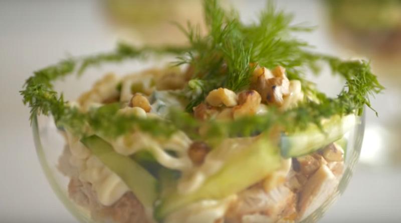 Салат-коктейль «Комплимент» (готовим к новогоднему столу)