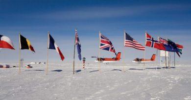 Сколько флагов на Северном полюсе?