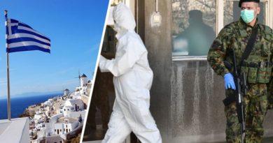 В Греции локдаун, но отели официально открыты