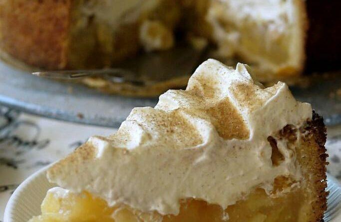 Яблочно-сливочный пирог