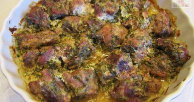 Сочное мясо по-грузински