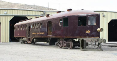 Странный поезд 1900-х