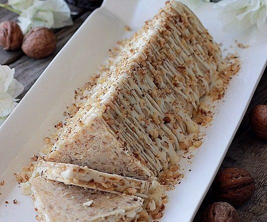 Торт-пирожное без выпечки