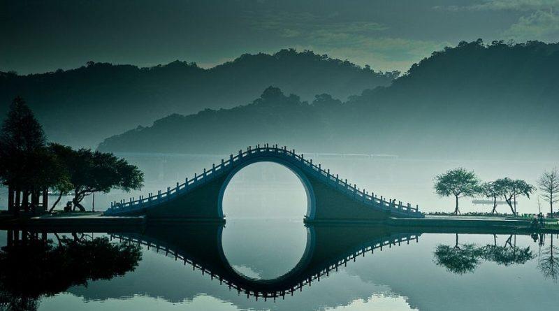 Живописный Лунный мост стал новым впечатляющим объектом культовой горы Китая