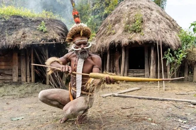 Дух предков: в папуасском племени коптят мумии вождей, чтобы сохранить их для потомков