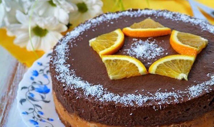 """Постный торт """"Праздничный"""""""