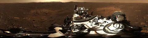 Ровер Perseverance передал первые звуки, записанные на Марсе