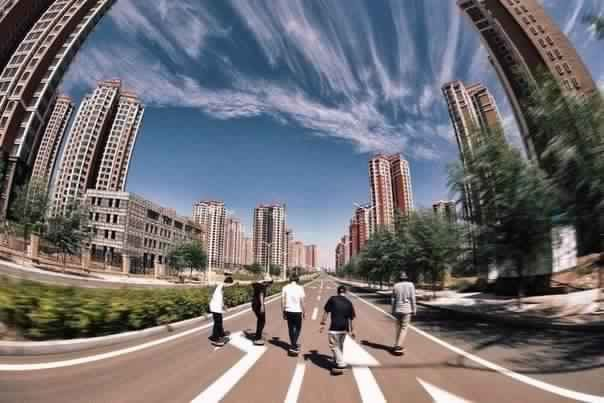 Китай строит города-призраки
