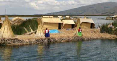 Южноамериканское племя, проживающее на дрейфующих плотах