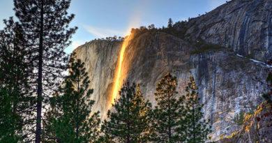 Лошадиный Хвост — водопад, похожий на поток лавы