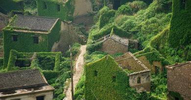 Заброшенная китайская деревня Хутуван