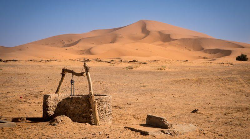 Почему в колодцах посреди пустыни всегда была вода?