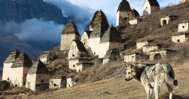 Город мертвых в Северной Осетии