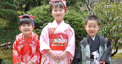 Япония: праздник «Сити-го-сан»