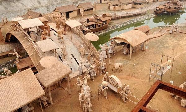 Парк глиняных скульптур в Китае - парки мира