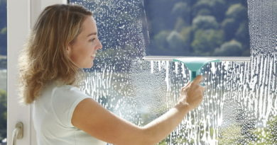 Правила мытья окон без разводов
