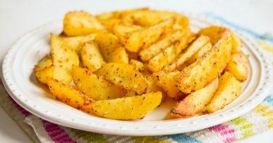 Хрустящие картофельные дольки
