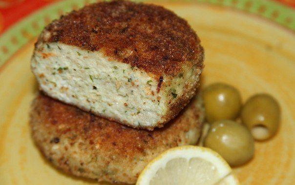Пикантные рыбные котлеты с сыром