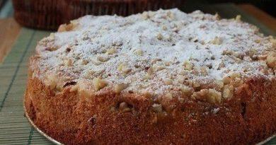 Обалденный медово-яблочный пирог