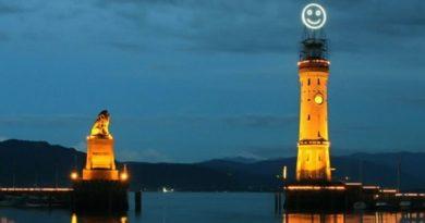 Fuehlometer - маяк, который показывает общее настроение в городе