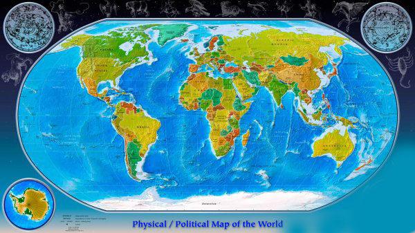 Все карты мира врут нам уже много столетий