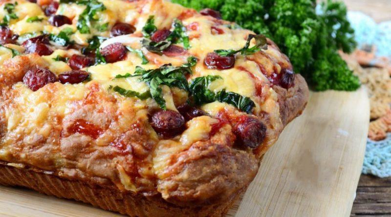 Быстрый пирог–пицца