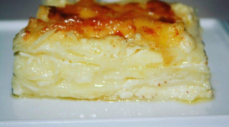 Ачма (турецкая сырная слойка)