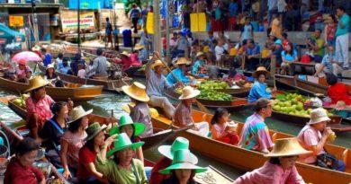 Базары, рынки и ярмарки Бангкока