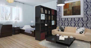 Идеи интерьера для однокомнатной квартиры