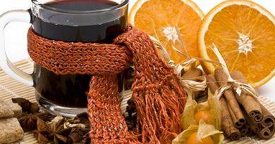 Тёплый и ароматный чай — то, что нужно при кашле!
