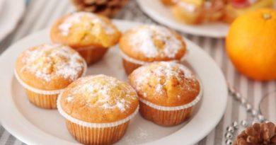 Ароматные и нежные Апельсиновые кексы