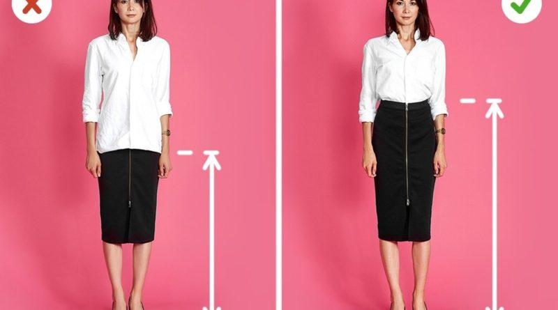 Какую одежду носить, чтобы казаться выше