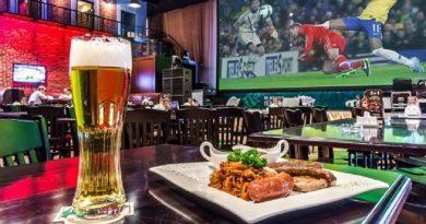 8 пабов в Москве , где смотреть футбол
