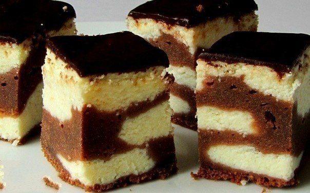 Сырник с шоколадным тестом