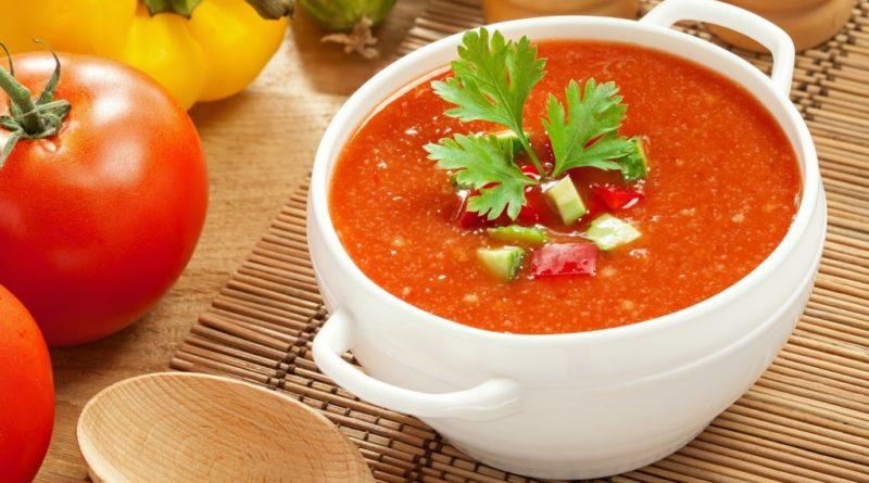 Томатный суп-пюре - простейшее блюдо итальянской кухни