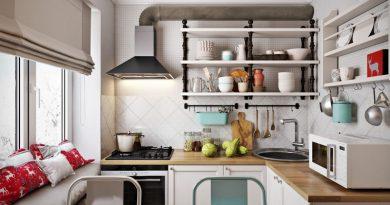 Советы, которые пригодятся для обустройства маленькой кухни