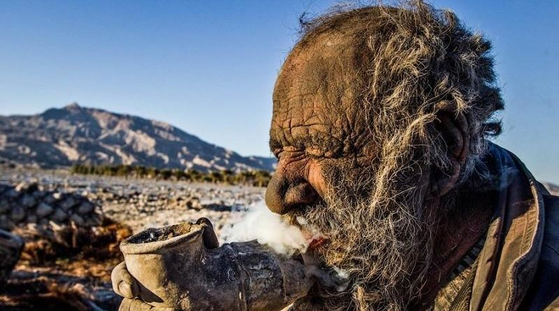 Как выглядит человек, который не мылся 60 лет