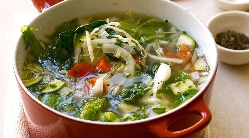 Суповая диета: вся польза овощных супов