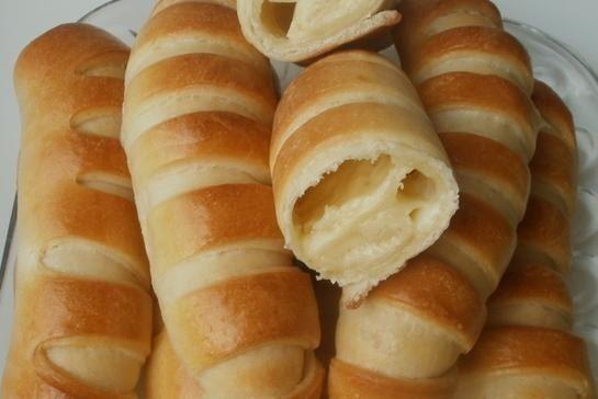 Булочки с плавленым сыром