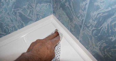 Установка бордюра для ванны