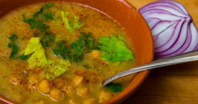 Греческий суп из нута