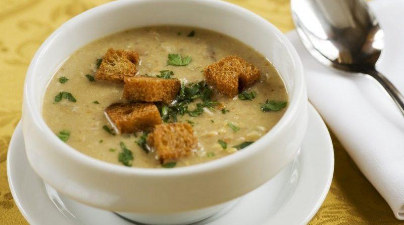 Чесночный суп по-португальски