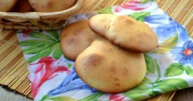 Печенье из бисквитного теста