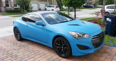 Покраска автомобиля резиновой краской