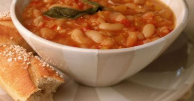 Фасолада - греческий суп из фасоли