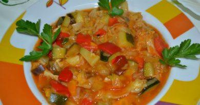 Вкуснейшее рагу из овощей
