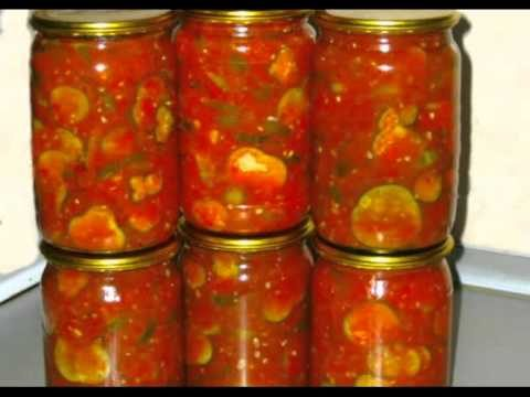 Огурцы в томате на зиму