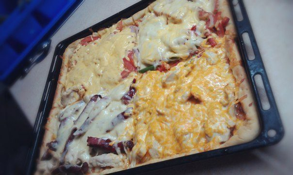 Самое главное в пицце - это соус!