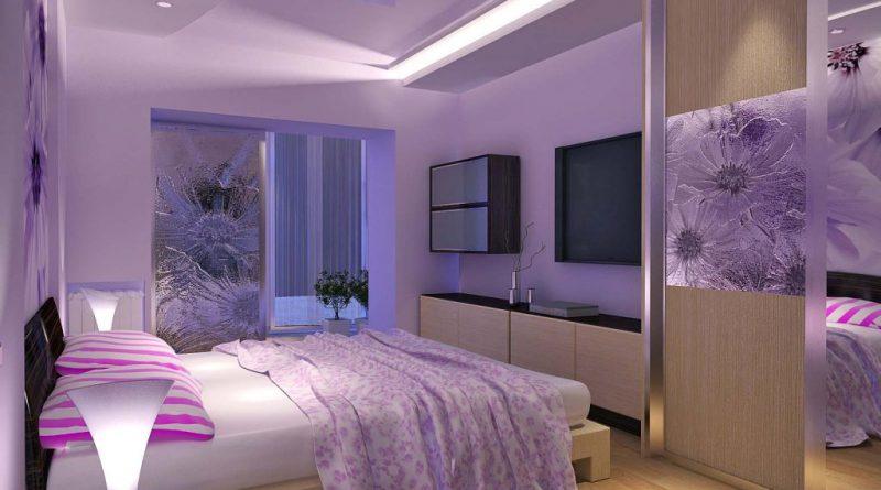 Как расставить мебель в спальни?